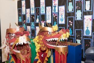 Spring Festival Dragons in MPR
