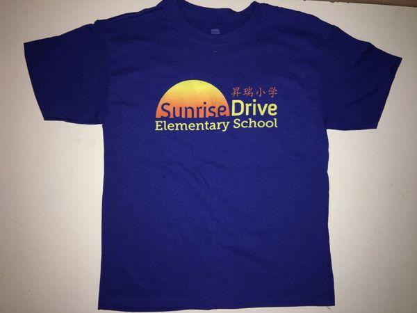 Front of Blue Spirit T-Shirt